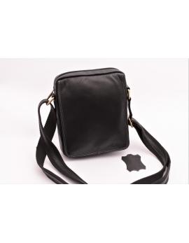 Pánska taška cez rameno crossbody čierna