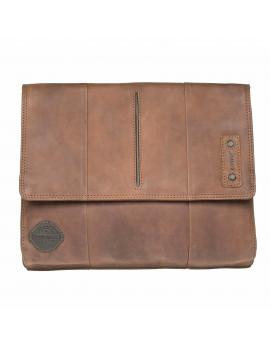 Lagen Kožená hnedá taška