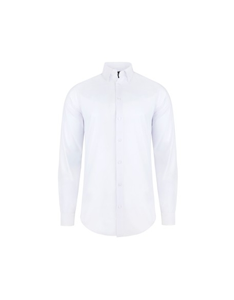 Biela košeľa slim fit Pako Lorente