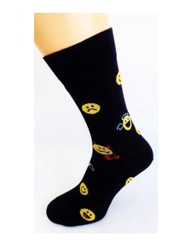 Bláznivé pánske ponožky Káro