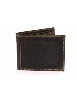 Pánska tmavohnedá peňaženka Mercucio