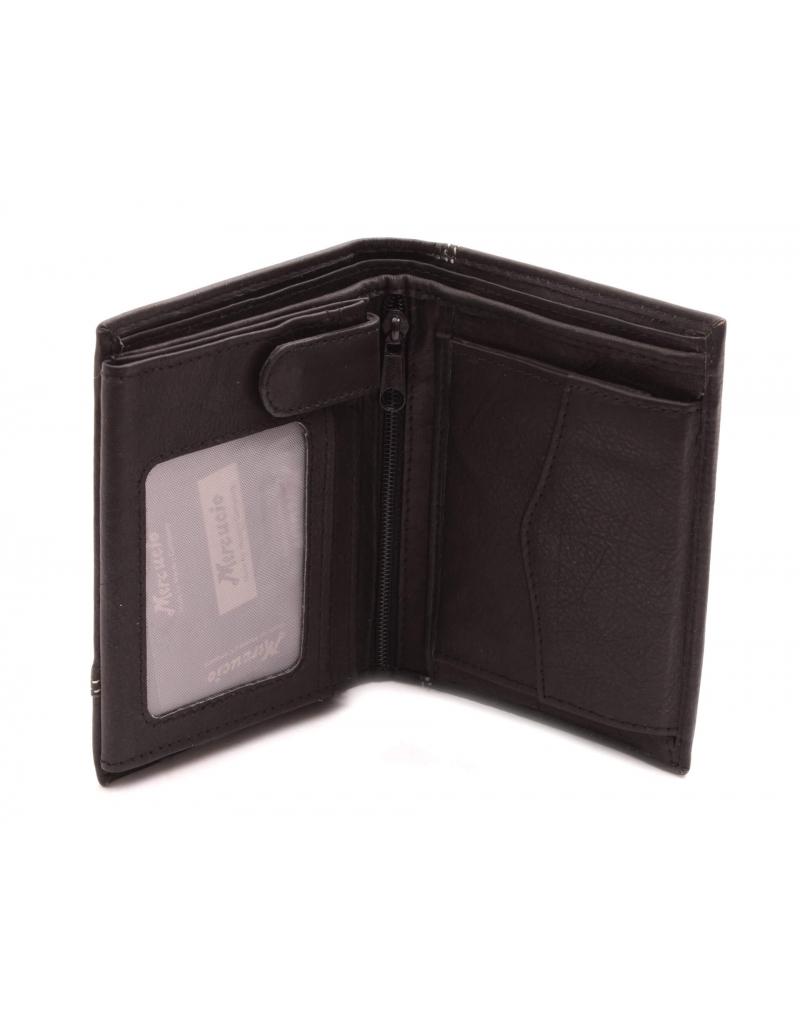 0e9fb3c54f Pánska kožená peňaženka čierna · Pánska kožená peňaženka čierna ...