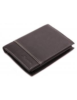 Pánska kožená peňaženka čierna
