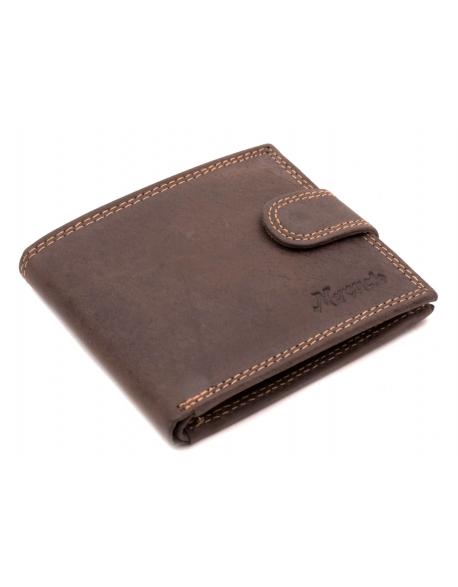 c435b90bf Pánska kožená peňaženka hneda