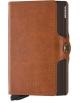 Peňaženka Secrid Slimwallet hnedá čokoládová
