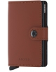 Peňaženka Secrid Miniwallet Matte Brick-Black