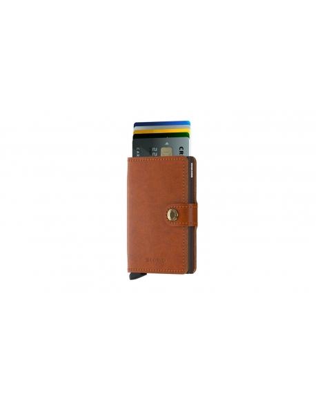 Peňaženka Secrid Miniwallet Original Cognac-Brown