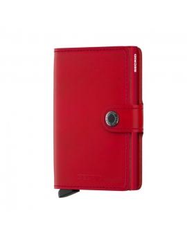 Peňaženka Secrid miniwallet - červená