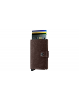 Peňaženka Secrid Miniwallet Veg Espresso