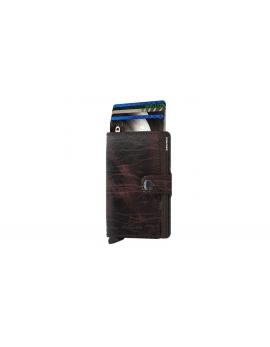 Peňaženka Secrid Miniwallet Cacao-Brown