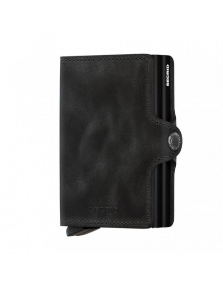 Peňaženka Secrid Twinwallet Vintage Black