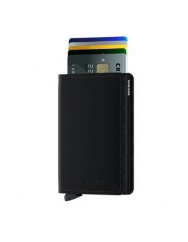 Peňaženka Secrid Slimwallet Black
