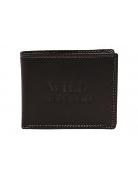 Peňaženka MERCUCIO wild čierna