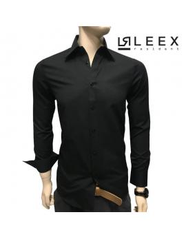 Pánska košeľa čiernej farby ADRIANO CALITRI