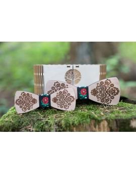 Detské drevené motýliky