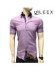 Ružová pánska košeľa ADRIANO CALITRI – krátky rukáv.