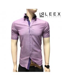 Ružová pánska košeľa