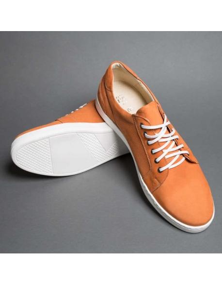 Pánske športové hnedé topánky