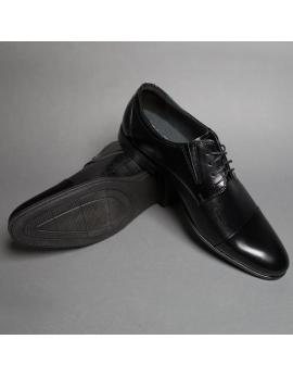 Pánske čierne elegantné topánky