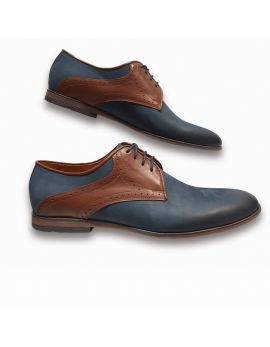 Pánske kožene topánky hnedá