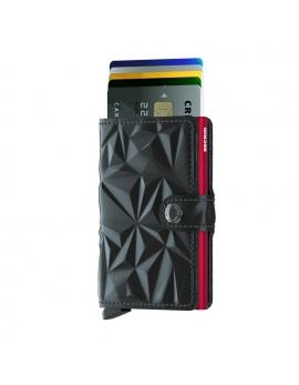 Peňaženka Miniwallet od SECRID - čierno-červená Prism
