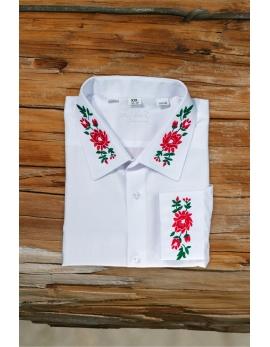 Pánska ľudová košeľa Babia hora - biela