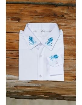 Pánska ľudová košeľa GERLACH - biela