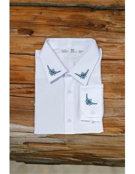 Pánska ľudová košeľa Choč - biela