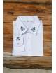 Pánska ľudová košeľa Chopok - biela