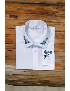 Pánska ľudová košeľa Javor - biela