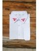 Pánska ľudová košeľa Kráľová hoľa - biela