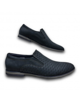 Kožená modrá obuv