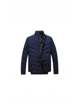 Pánska zimná bunda - tmavomodrá Repablo