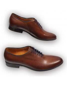 Pánska kožena obuv hnedá