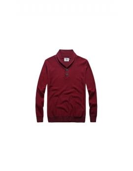 pánsky bordový sveter Repablo