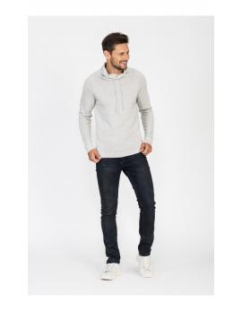 Pánsky sveter šedej farby Repablo