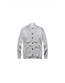 Pánsky sivý sveter Repablo