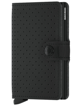 Peňaženka Secrid Mini Wallet Perforated Black