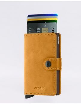 Peňaženka Secrid žltá Miniwallet Vintage Ochre