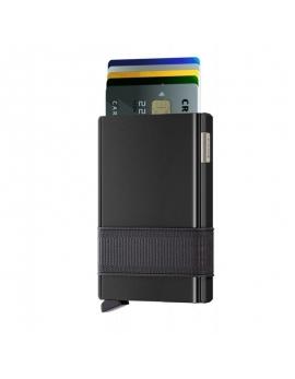 Čierne puzdro na karty Cardslide