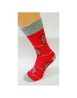 VIANOČNÉ Crazy Socks - soby