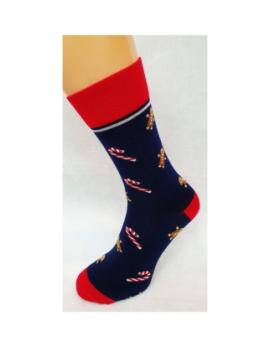 VIANOČNÉ Crazy Socks - LÍZATKÁ