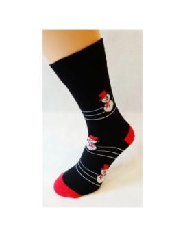 VIANOČNÉ Crazy Socks -SNEHULIAK