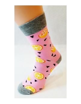 Crazy Socks ponožky - POMARANČE