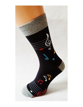 Crazy Socks ponožky - noty