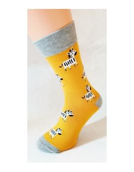 Crazy Socks ponožky - Krava