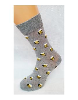 Crazy Socks ponožky -pivo