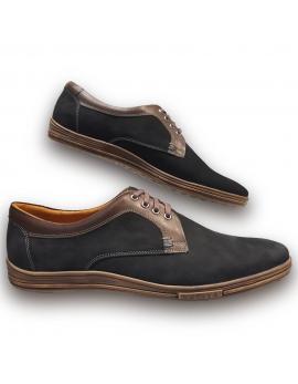 Kožená vychadzková pánska obuv LEEX Resident