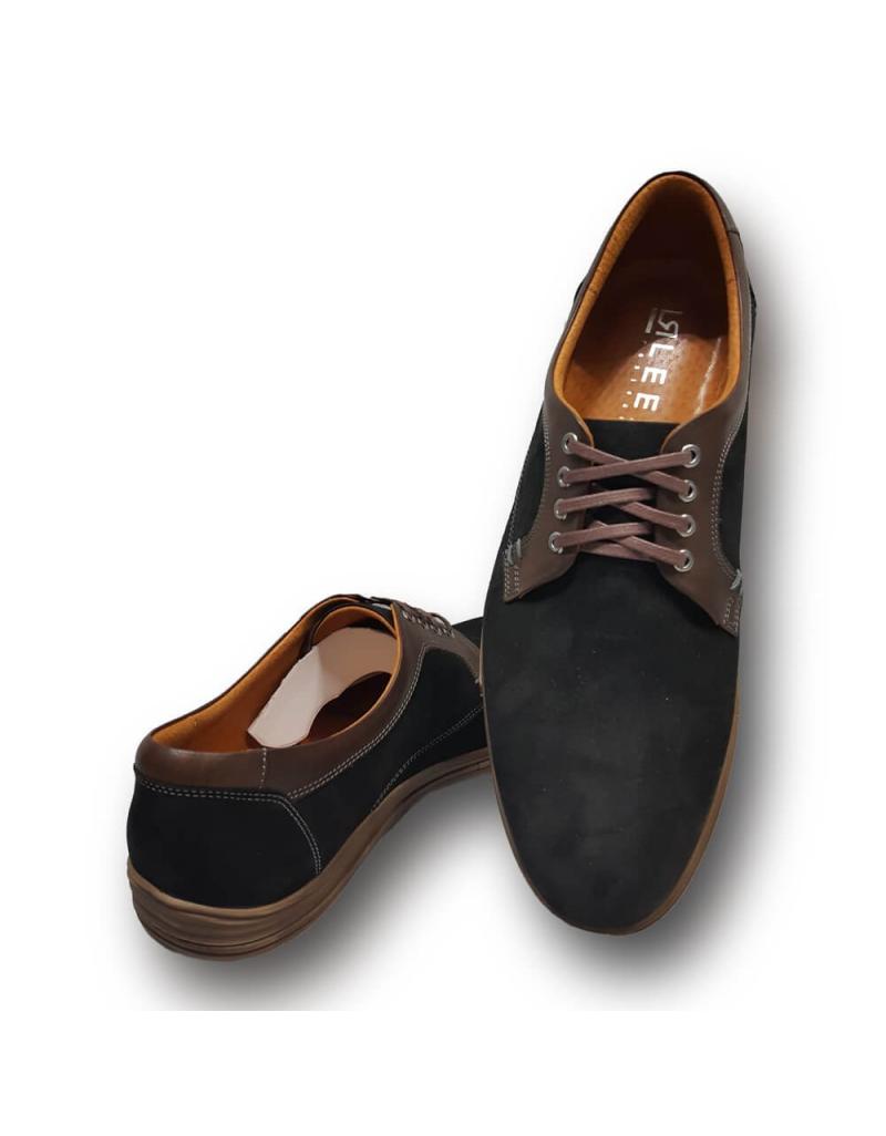 6fae118e74ee ... Kožená vychadzková pánska obuv LEEX Resident