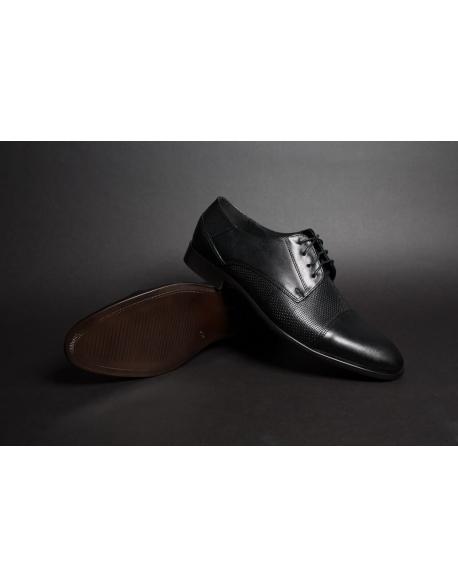 Pánske čierne topánky elegantné